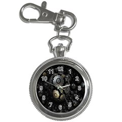 Fractal Sphere Steel 3d Structures Key Chain Watches