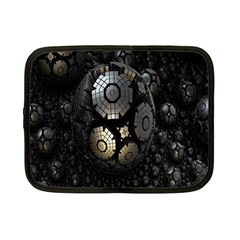 Fractal Sphere Steel 3d Structures Netbook Case (Small)