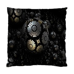 Fractal Sphere Steel 3d Structures Standard Cushion Case (One Side)