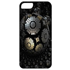 Fractal Sphere Steel 3d Structures Apple iPhone 5 Classic Hardshell Case