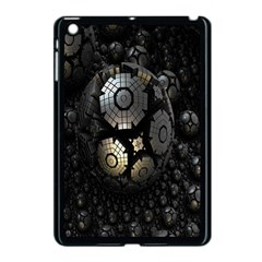 Fractal Sphere Steel 3d Structures Apple iPad Mini Case (Black)