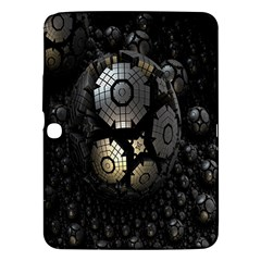 Fractal Sphere Steel 3d Structures Samsung Galaxy Tab 3 (10.1 ) P5200 Hardshell Case