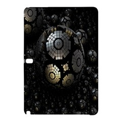 Fractal Sphere Steel 3d Structures Samsung Galaxy Tab Pro 10 1 Hardshell Case