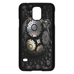 Fractal Sphere Steel 3d Structures Samsung Galaxy S5 Case (Black)