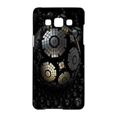 Fractal Sphere Steel 3d Structures Samsung Galaxy A5 Hardshell Case