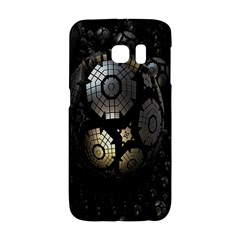 Fractal Sphere Steel 3d Structures Galaxy S6 Edge