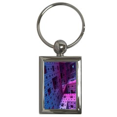 Fractals Geometry Graphic Key Chains (Rectangle)