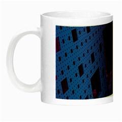 Fractals Geometry Graphic Night Luminous Mugs