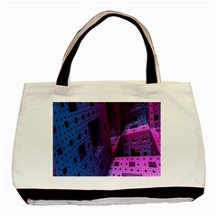 Fractals Geometry Graphic Basic Tote Bag