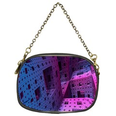 Fractals Geometry Graphic Chain Purses (One Side)