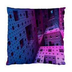 Fractals Geometry Graphic Standard Cushion Case (One Side)