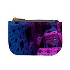 Fractals Geometry Graphic Mini Coin Purses