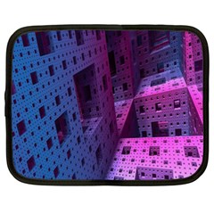 Fractals Geometry Graphic Netbook Case (XXL)