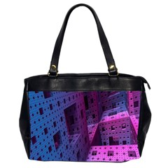 Fractals Geometry Graphic Office Handbags (2 Sides)