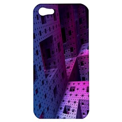 Fractals Geometry Graphic Apple Iphone 5 Hardshell Case
