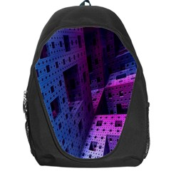 Fractals Geometry Graphic Backpack Bag