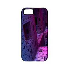 Fractals Geometry Graphic Apple iPhone 5 Classic Hardshell Case (PC+Silicone)
