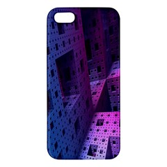 Fractals Geometry Graphic Apple iPhone 5 Premium Hardshell Case