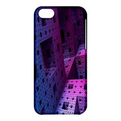 Fractals Geometry Graphic Apple iPhone 5C Hardshell Case