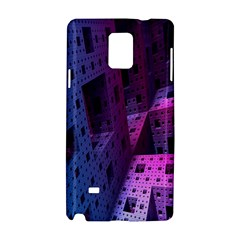 Fractals Geometry Graphic Samsung Galaxy Note 4 Hardshell Case