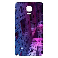 Fractals Geometry Graphic Galaxy Note 4 Back Case