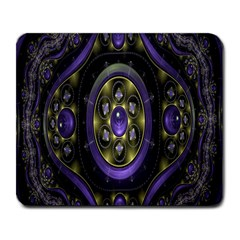 Fractal Sparkling Purple Abstract Large Mousepads