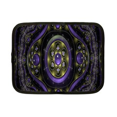 Fractal Sparkling Purple Abstract Netbook Case (Small)