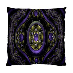 Fractal Sparkling Purple Abstract Standard Cushion Case (Two Sides)