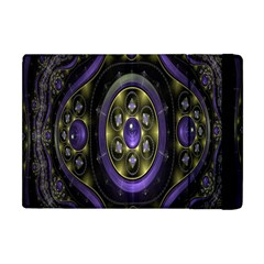 Fractal Sparkling Purple Abstract Apple Ipad Mini Flip Case