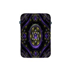 Fractal Sparkling Purple Abstract Apple iPad Mini Protective Soft Cases