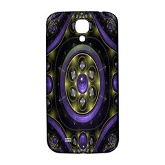 Fractal Sparkling Purple Abstract Samsung Galaxy S4 I9500/i9505  Hardshell Back Case