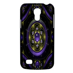 Fractal Sparkling Purple Abstract Galaxy S4 Mini