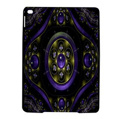 Fractal Sparkling Purple Abstract iPad Air 2 Hardshell Cases