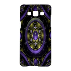 Fractal Sparkling Purple Abstract Samsung Galaxy A5 Hardshell Case