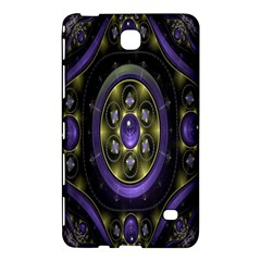 Fractal Sparkling Purple Abstract Samsung Galaxy Tab 4 (8 ) Hardshell Case