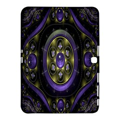 Fractal Sparkling Purple Abstract Samsung Galaxy Tab 4 (10 1 ) Hardshell Case