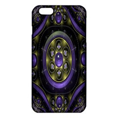 Fractal Sparkling Purple Abstract Iphone 6 Plus/6s Plus Tpu Case