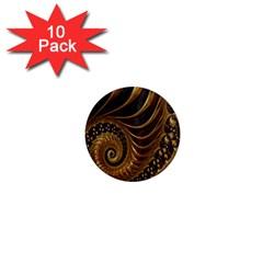 Fractal Spiral Endless Mathematics 1  Mini Magnet (10 pack)