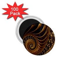 Fractal Spiral Endless Mathematics 1 75  Magnets (100 Pack)