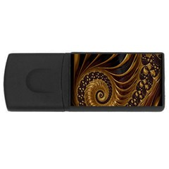 Fractal Spiral Endless Mathematics USB Flash Drive Rectangular (2 GB)