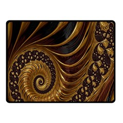 Fractal Spiral Endless Mathematics Fleece Blanket (Small)