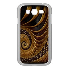 Fractal Spiral Endless Mathematics Samsung Galaxy Grand Duos I9082 Case (white)