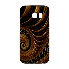 Fractal Spiral Endless Mathematics Galaxy S6 Edge