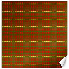 Fugly Christmas Xmas Pattern Canvas 16  X 16