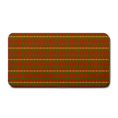 Fugly Christmas Xmas Pattern Medium Bar Mats