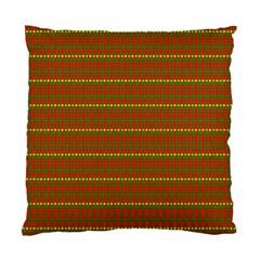 Fugly Christmas Xmas Pattern Standard Cushion Case (One Side)