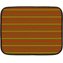 Fugly Christmas Xmas Pattern Fleece Blanket (Mini)