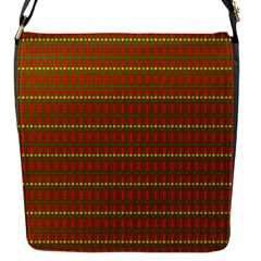 Fugly Christmas Xmas Pattern Flap Messenger Bag (s)
