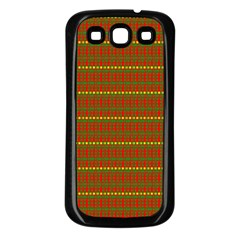 Fugly Christmas Xmas Pattern Samsung Galaxy S3 Back Case (black)
