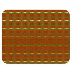 Fugly Christmas Xmas Pattern Double Sided Flano Blanket (Medium)